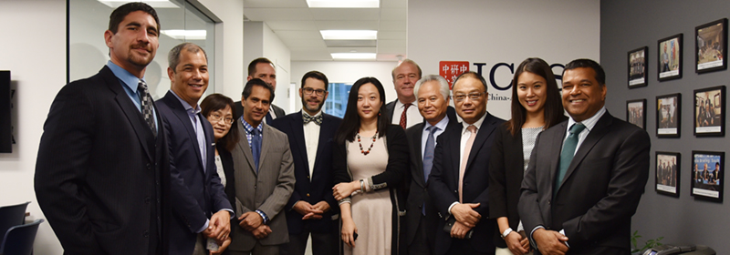 NISCSS President Wu Shicun attended round-table discussion in Washington, DC
