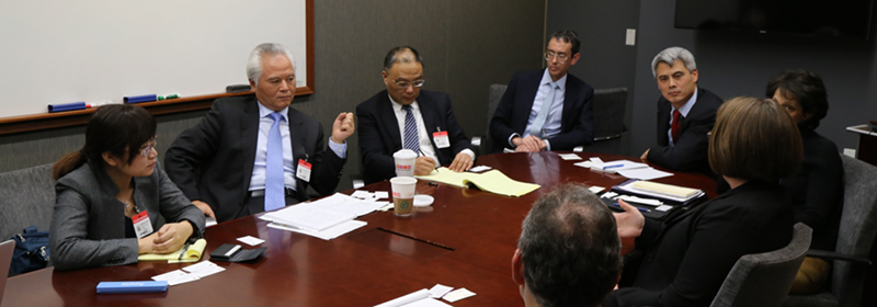 NISCSS President Wu Shicun held discussions with US officials in Washington, DC