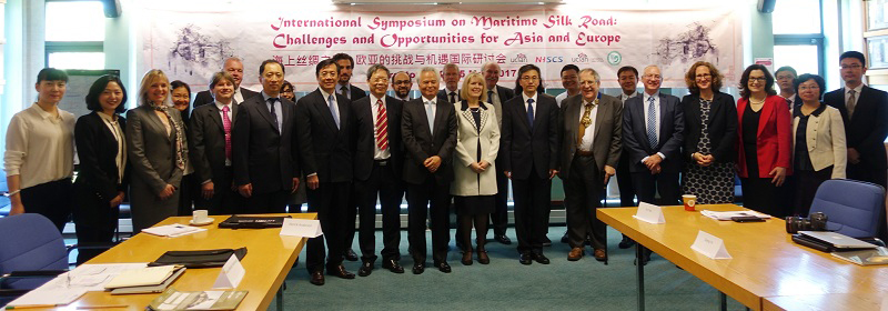 NISCSS President Wu Shicun attended symposium on maritime silk road in UK