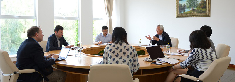 NISCSS President Wu Shicun met with representatives of ECFR
