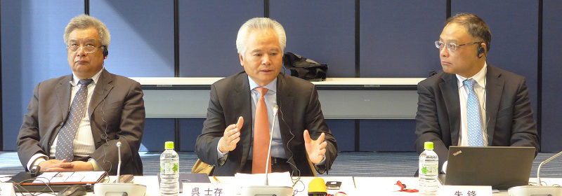 Wu Shicun attended China-Japan Dialogue on East China Sea Security in Tokyo