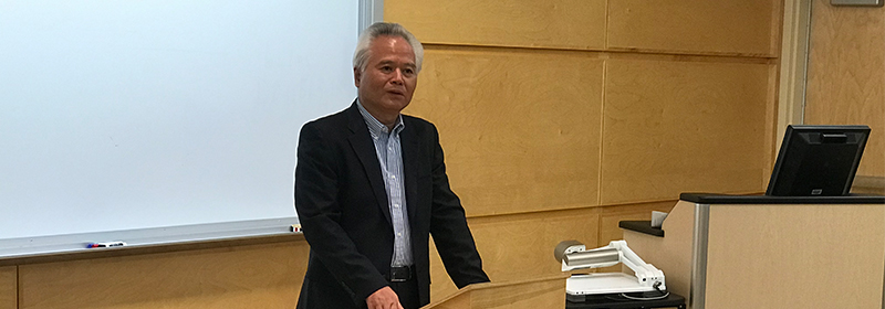 Wu Shicun Spoke at Dalhousie University Law School Faculty Seminar